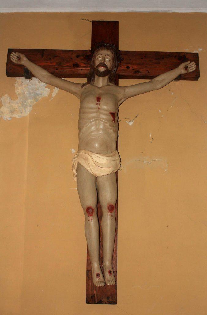 Il Crocifisso alle Fratte (foto Maurizio Cuomo)