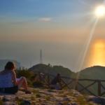 Tramonto al Belvedere del Monte Faito