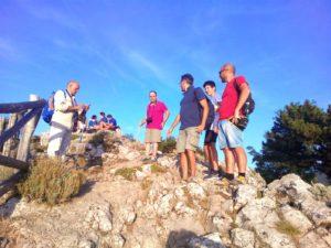 In Vetta, escursionisti stabiesi