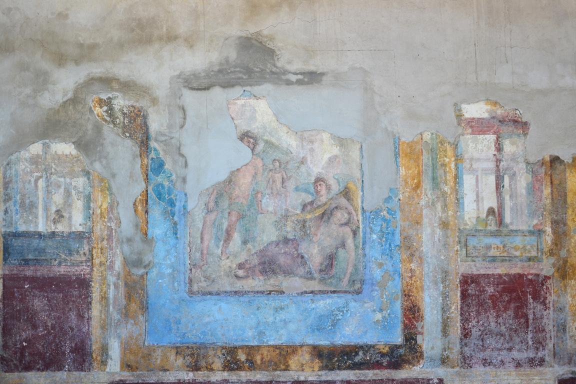 Scavi di Stabia, Villa Arianna - Triclinio