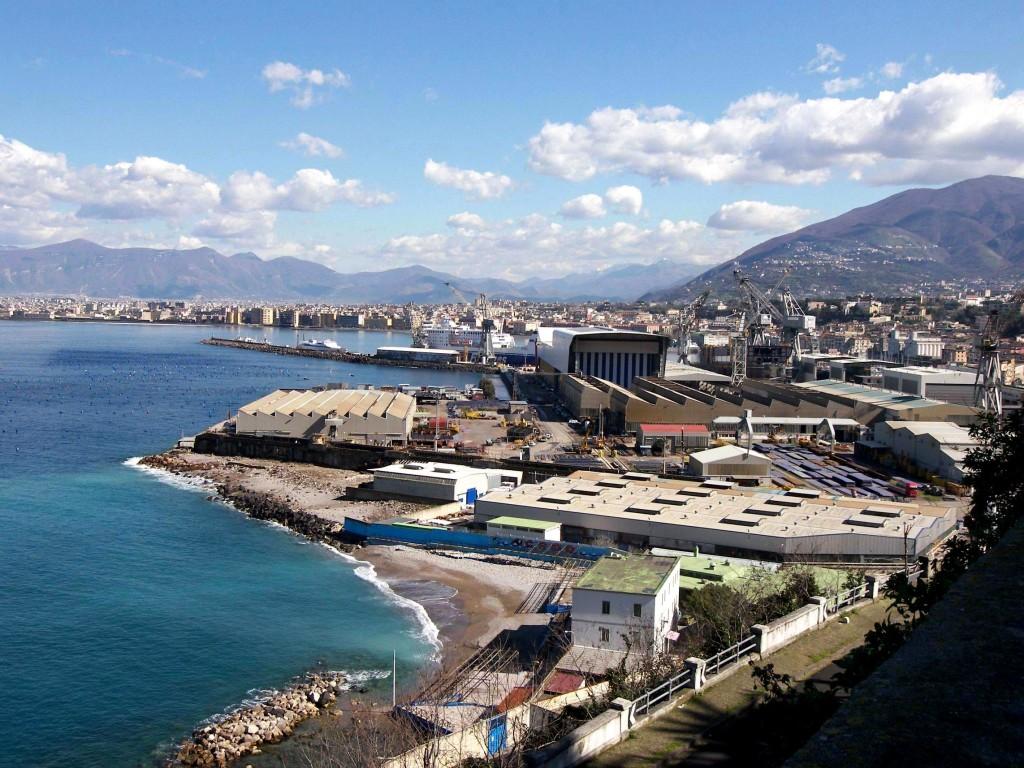Contratto d'Area Torrese-Stabiese: Il Cantiere navale di Castellammare di Stabia (foto Ferdinando Fontanella)