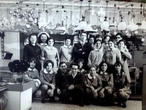 Anni '60 il personale del supermercato Standa nel giorno dell'apertura a Castellammare di Stabia (foto gentilmente concessa da Fotocolr di Mimì Sicignano)