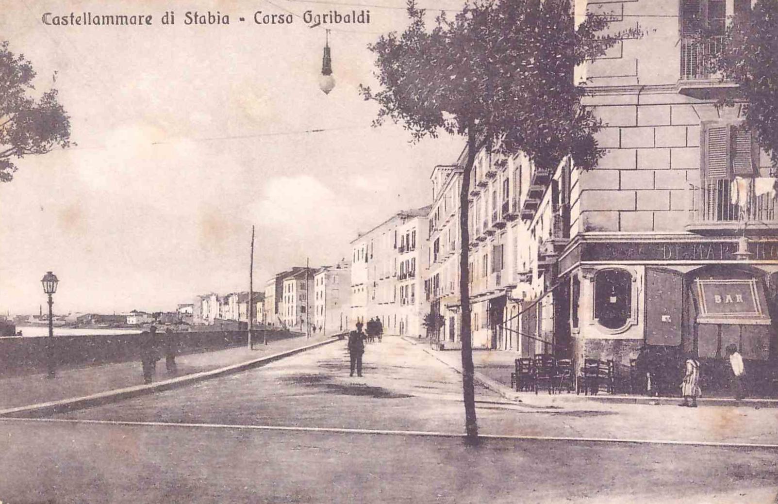 Il Corso Garibaldi di Castellammare
