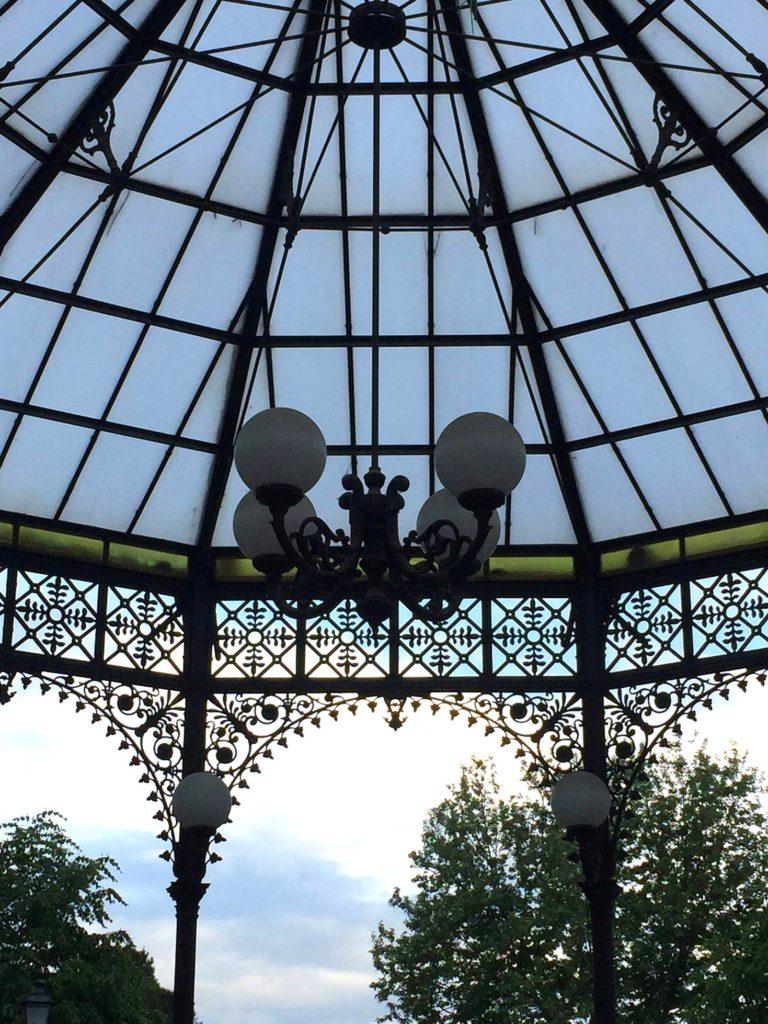 Particolare del lampadario Cesena (foto M. Greco)
