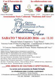 Premio Madonna dell'Arco 2016