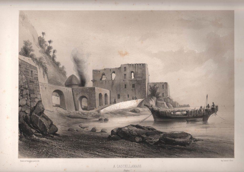Portocarello - stampa del 1855 (coll. Gaetano Fontana)