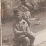 Scanzano (anni '50): i fratelli Antonio e Franco Cimmino (foto gentilmente concessa da Antonio Cimmino)