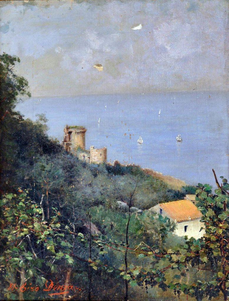 Veduta di Castellammare - Ciro Denza