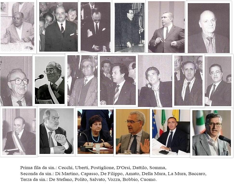 I Sindaci di Castellammare (dal dopoguerra ad oggi)