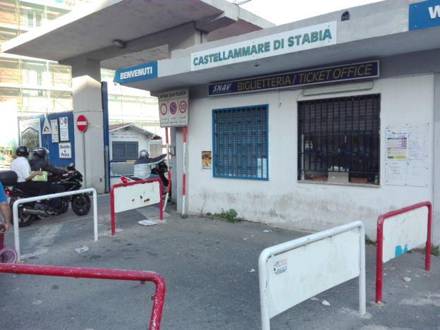 Biglietteria portuale di Castellammare