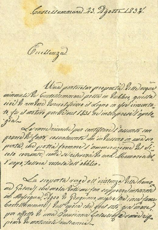 Lettera manoscritta