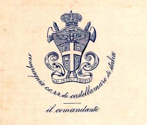 Comandante Carabinieri Reali - timbro