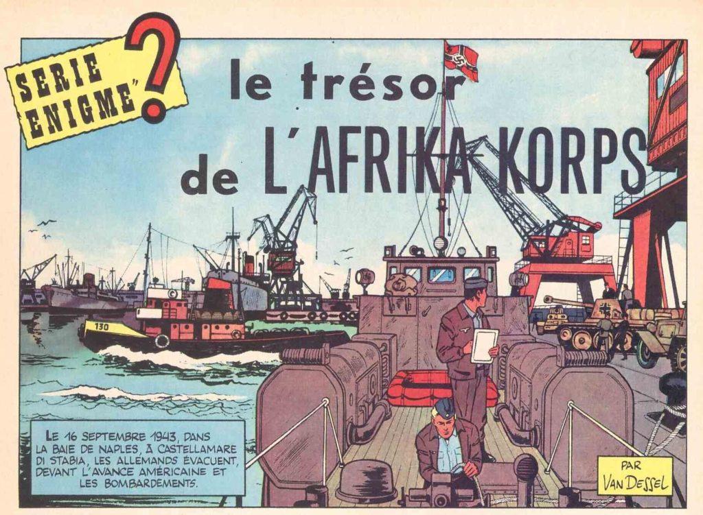 Fumetti: Le trésor de L'AFRICA KORPS