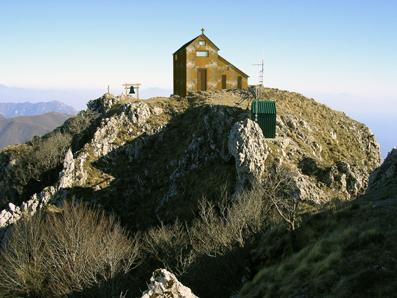 La chiesa di san Michele al Molare (riprodotta fedelmente dal geom. Esposito Sansone Catello)