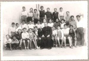 Scuole medie anno 1950 1° classe prof. Mariano Rosati