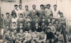 Scuola Media Stabiae anni 50. Professore Giuseppe Pace.