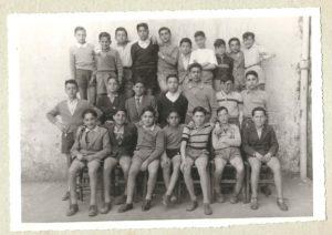 Scuole medie anno 1951 2° classe