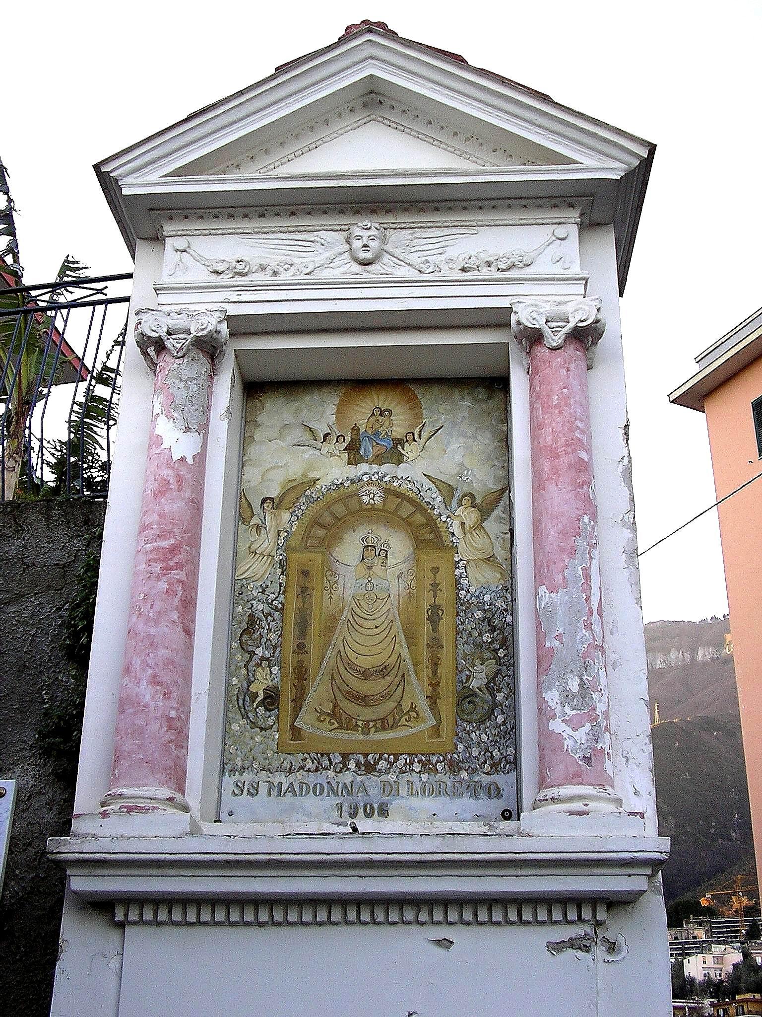 SS. Madonna di Loreto, 1906 (foto Maurizio Cuomo)