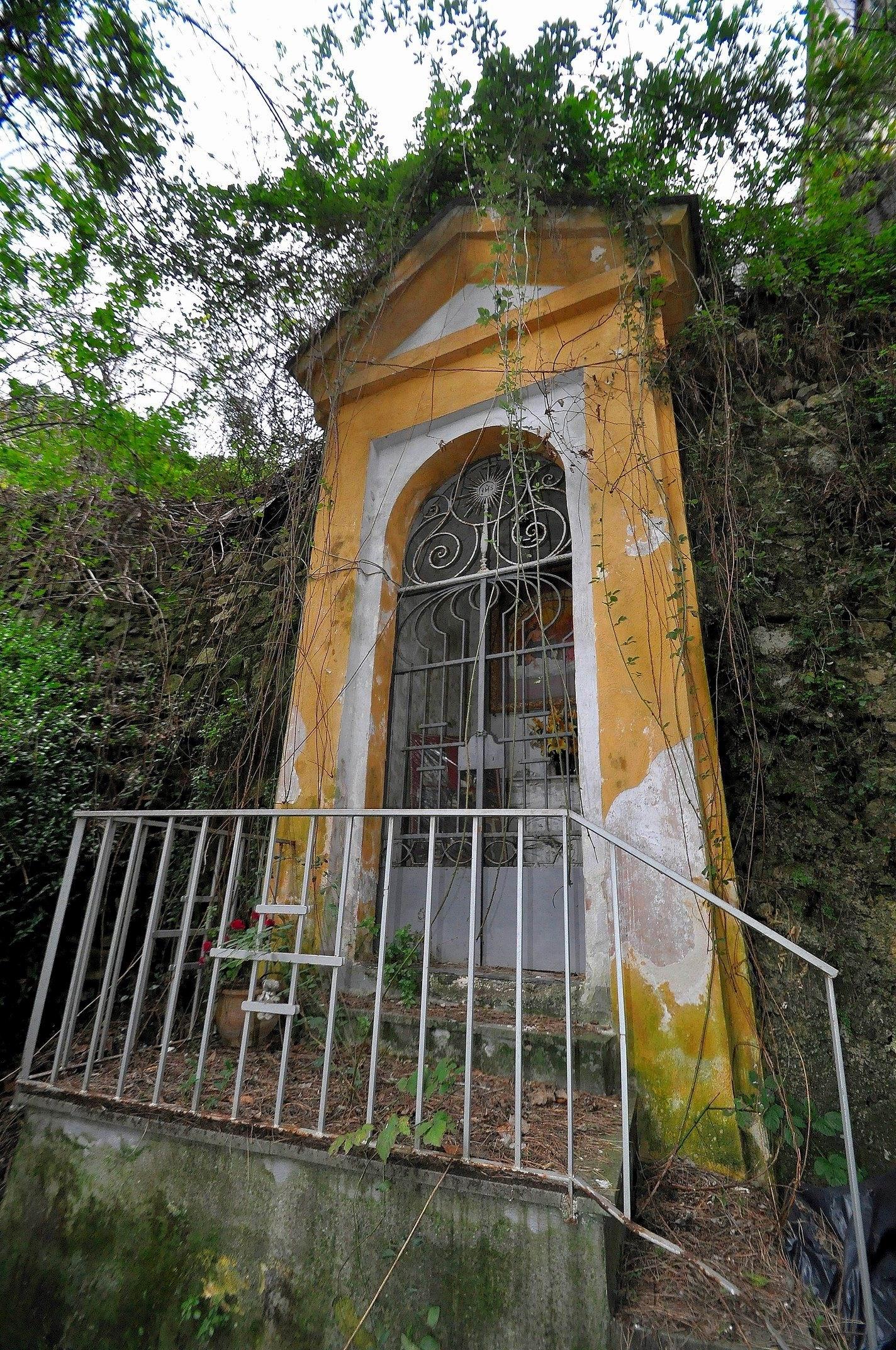 Edicola del Terno Patre (foto Enzo Cesarano)