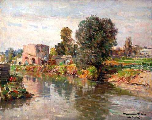 Francesco Filosa - Il fiume Sarno
