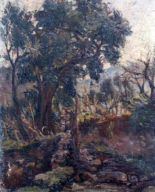 Francesco Filosa - Il sentiero nei boschi