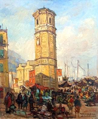 Francesco Filosa - L'antica Piazza Mercato