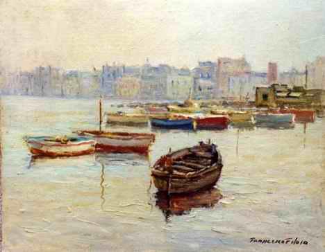 Francesco Filosa - Le barche dei pescatori