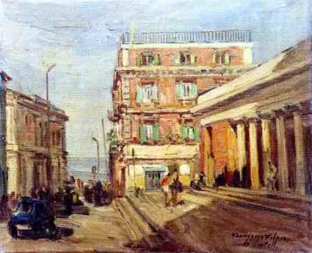 Francesco Filosa - Piazza Ferrovia