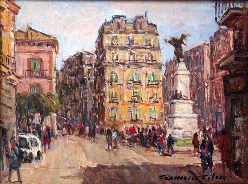 Francesco Filosa - Piazza Monumento