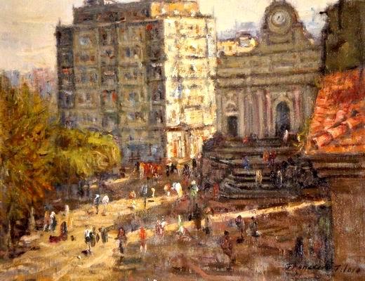 Francesco Filosa - Piazza Municipio (pesola)
