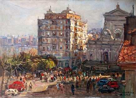Francesco Filosa - Piazza Municipio
