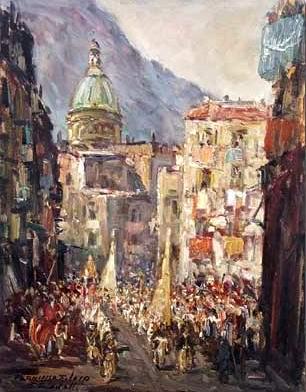 Francesco Filosa - Processione di San Catello