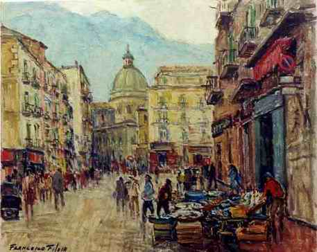 Francesco Filosa - Via Santa Maria dell'Orto