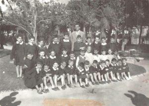 anno 1954 ex seminario 2^ elementare Maestro Sig. Francesco Schiavone