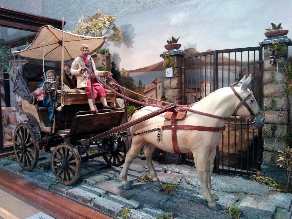 La Natività in carrozzella
