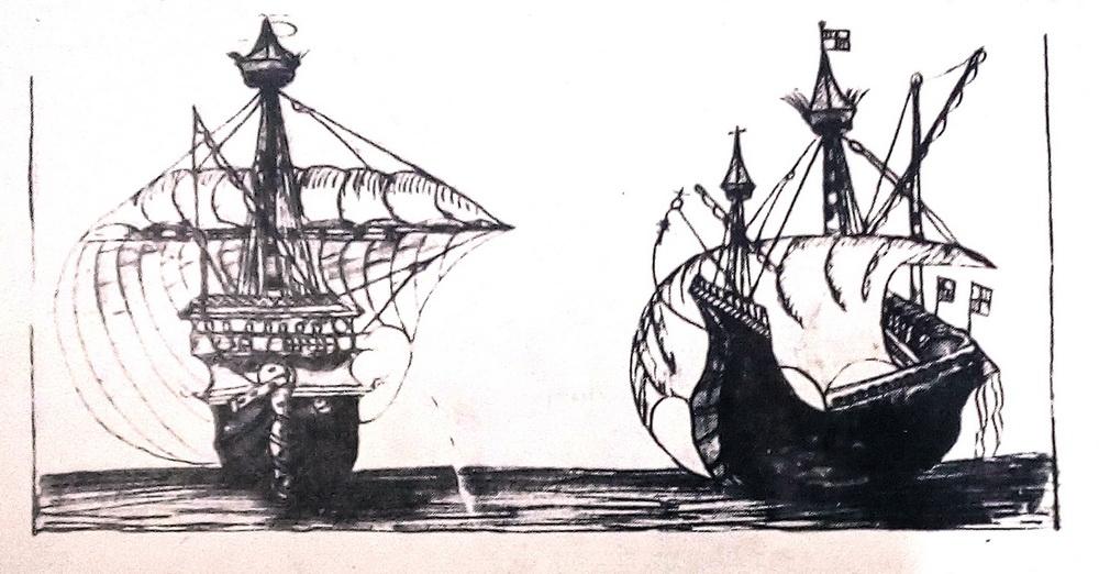 Le Caravalle che portarono via gli ebrei cacciati dalla Spagna