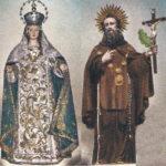 Madonna della Misericordia e San Ciro, particolare, Collezione Tullio Pesola
