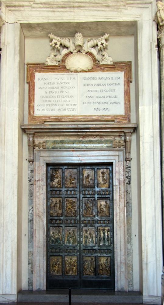 Porta Santa, San Pietro, foto Giuseppe Zingone