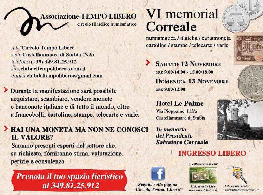 VI Memorial Correale