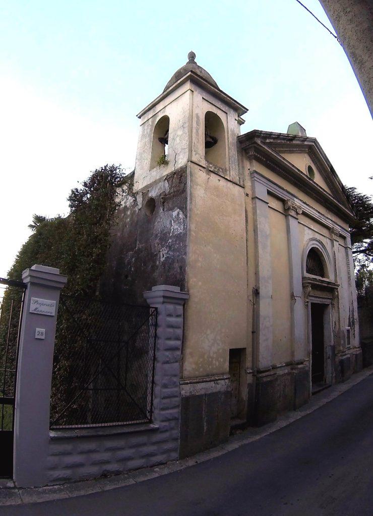 La chiesa di Santo Stefano (foto Corrado Di Martino)