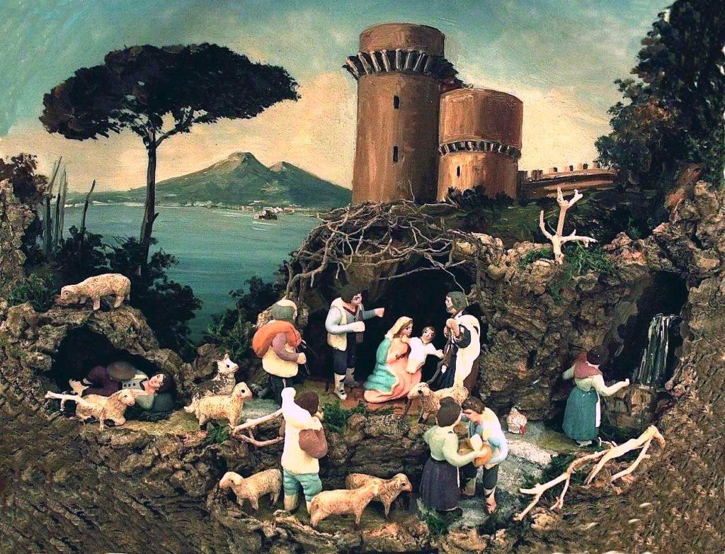 Il presepe stabiano del liberoricercatore (opera del M° Franco Liguori)