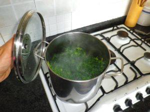 Lasciate cuocere la verdura per circa 30 minuti.