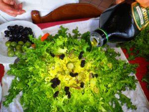 Terminate l'operazione con un giro di olio extravergine di oliva