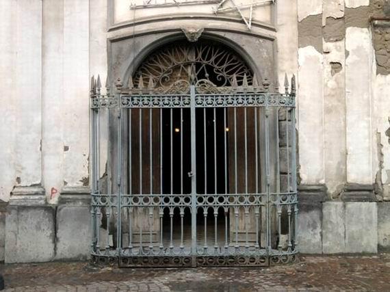 Chiesa del Cuore di Maria (ingresso)