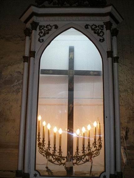 Chiesa del Cuore di Maria: Nicchia vuota