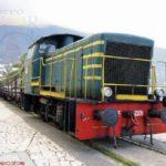 Treno in Villa Comunale (foto Maurizio Cuomo)