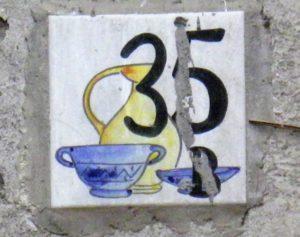 Piastrella n. 35 B (foto F.F.)