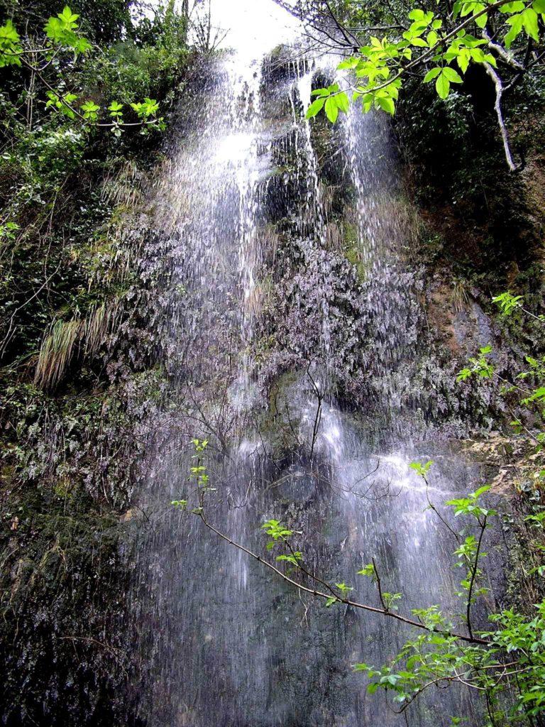 Cascata al Monte Coppola (particolare alto)