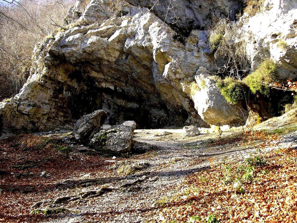 Faito - il luogo detto dell'Acqua Santa (foto Maurizio Cuomo)