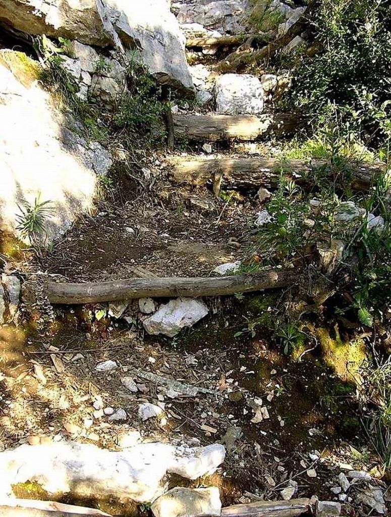 Il sentiero per la Vena dei Briganti (foto Maurizio Cuomo)